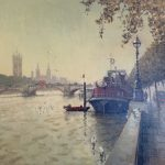 Thames at Lambeth by Rod Pearce