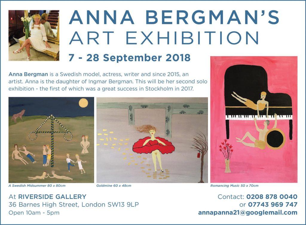 Anna Bergman Riverside Gallery Barnes