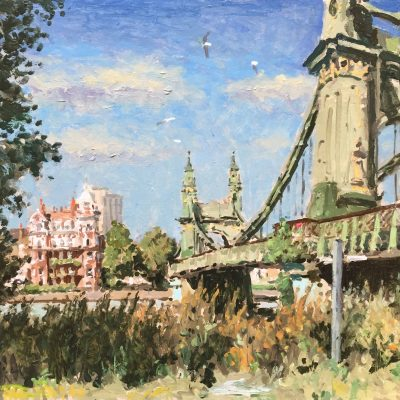 Hammersmith Bridge 2 by Rod Pearce