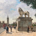 Westminster Lion by Rod Peace
