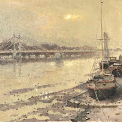 Albert Bridge by Rod Pearce