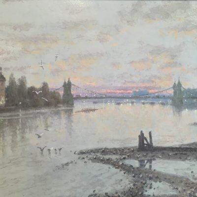 Hammersmith, Sunset by Rod Pearce