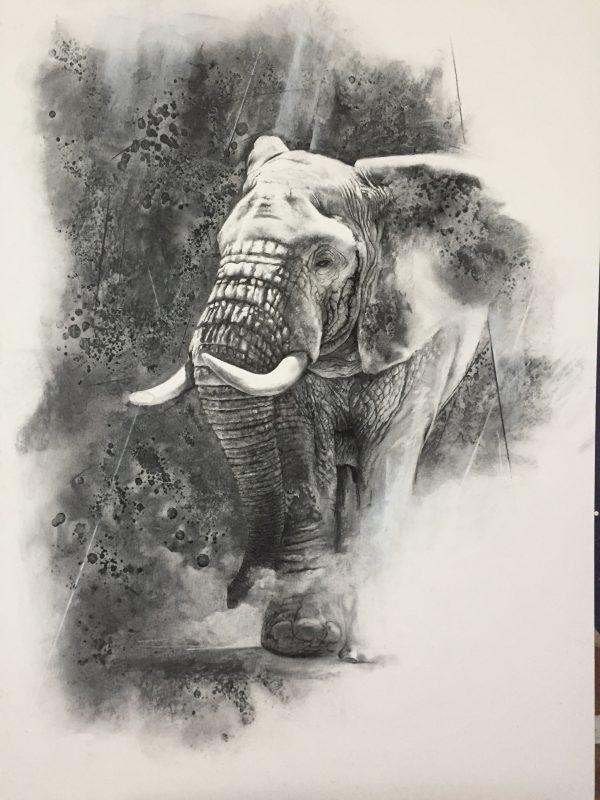 Goliath Walks by Karen Laurence-Rowe Riverside Gallery Barnes