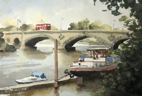 Kew Bridge by Rod Pearce Riverside Gallery Barnes