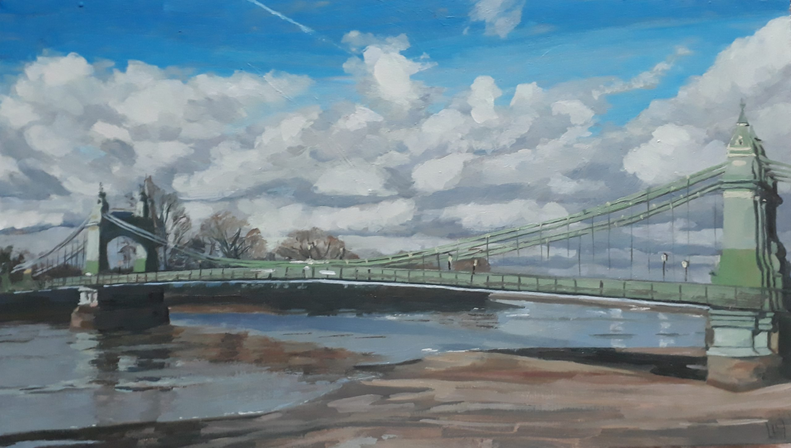 Storm Clouds over Hammersmith Bridge