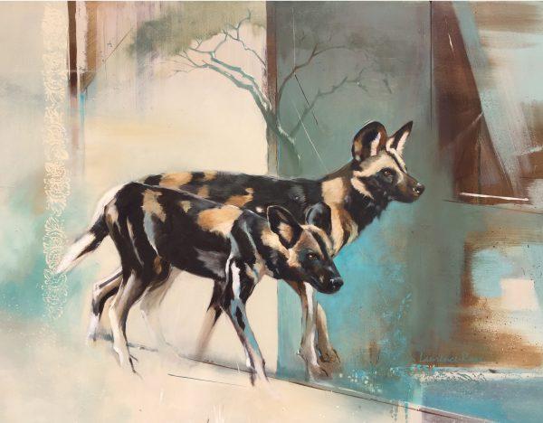 Hunt Leaders by Karen Laurence-Rowe Riverside Gallery Barnes