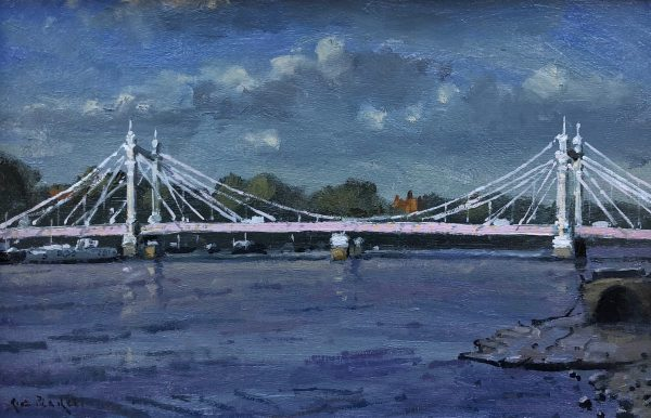 Albert Bridge by Rod Pearce Riverside Gallery Barnes