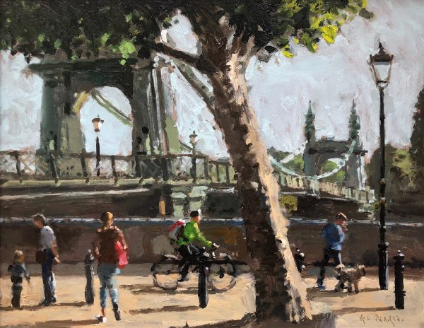 Hammersmith Riverside by Rod Pearce Riverside Gallery Barnes