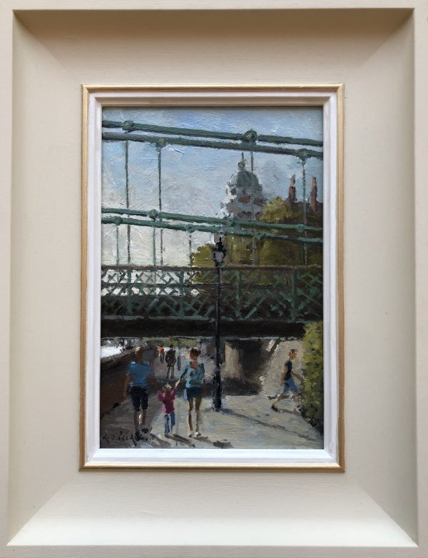 Hammersmith by Rod Pearce Riverside Gallery Barnes with frame