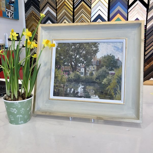 Barnes Pond by Rod Pearce Riverside Gallery Barnes