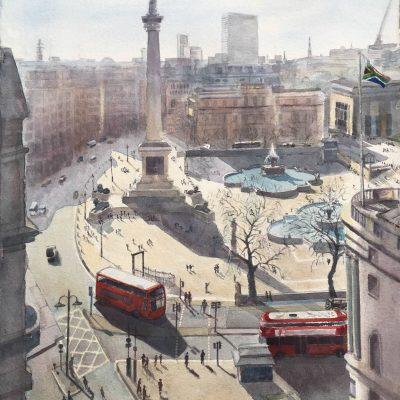 Trafalgar Square by Caroline Lees