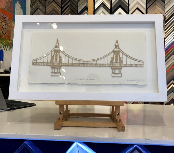 Hammersmith Bridge by Annabel Eyres Riverside Gallery Barnes