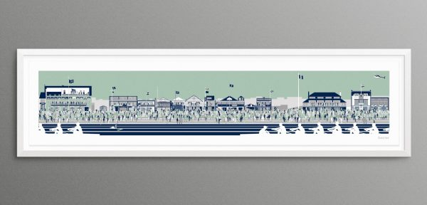 The Boat Race at Putney Embankment by Rachel Hunt