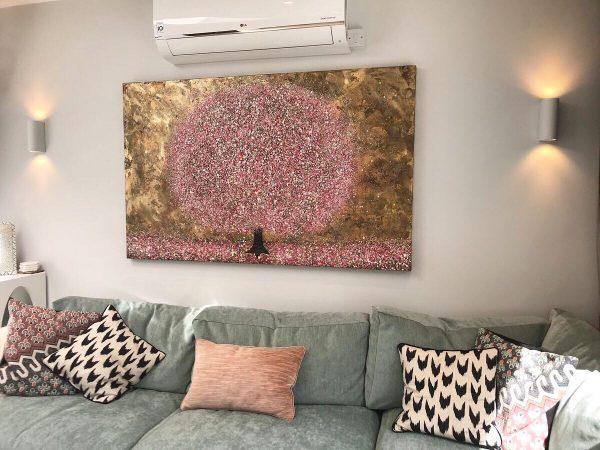 Tumbling Evening Blossom by Nicky Chubb