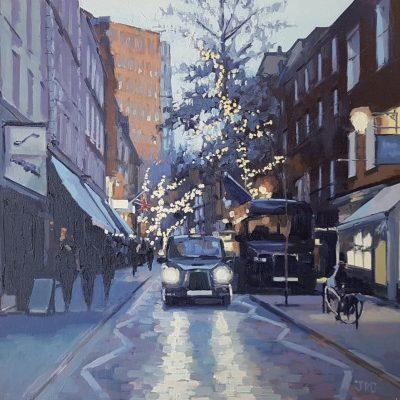 Monmouth Street, Dusk by Jennifer Greenland