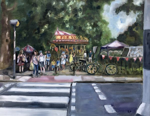 Barnes Fair by Rachel Parker Riverside Gallery Barnes