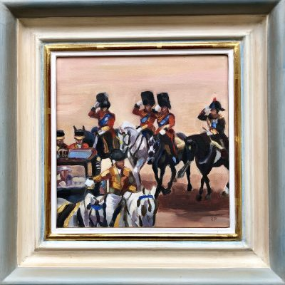 Trooping the Colour by Rachel Parker
