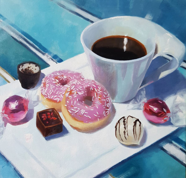 Cafe et Gourmandises by Sarah Spence