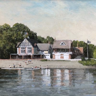 Boathouse at Chiswick by Rod Pearce