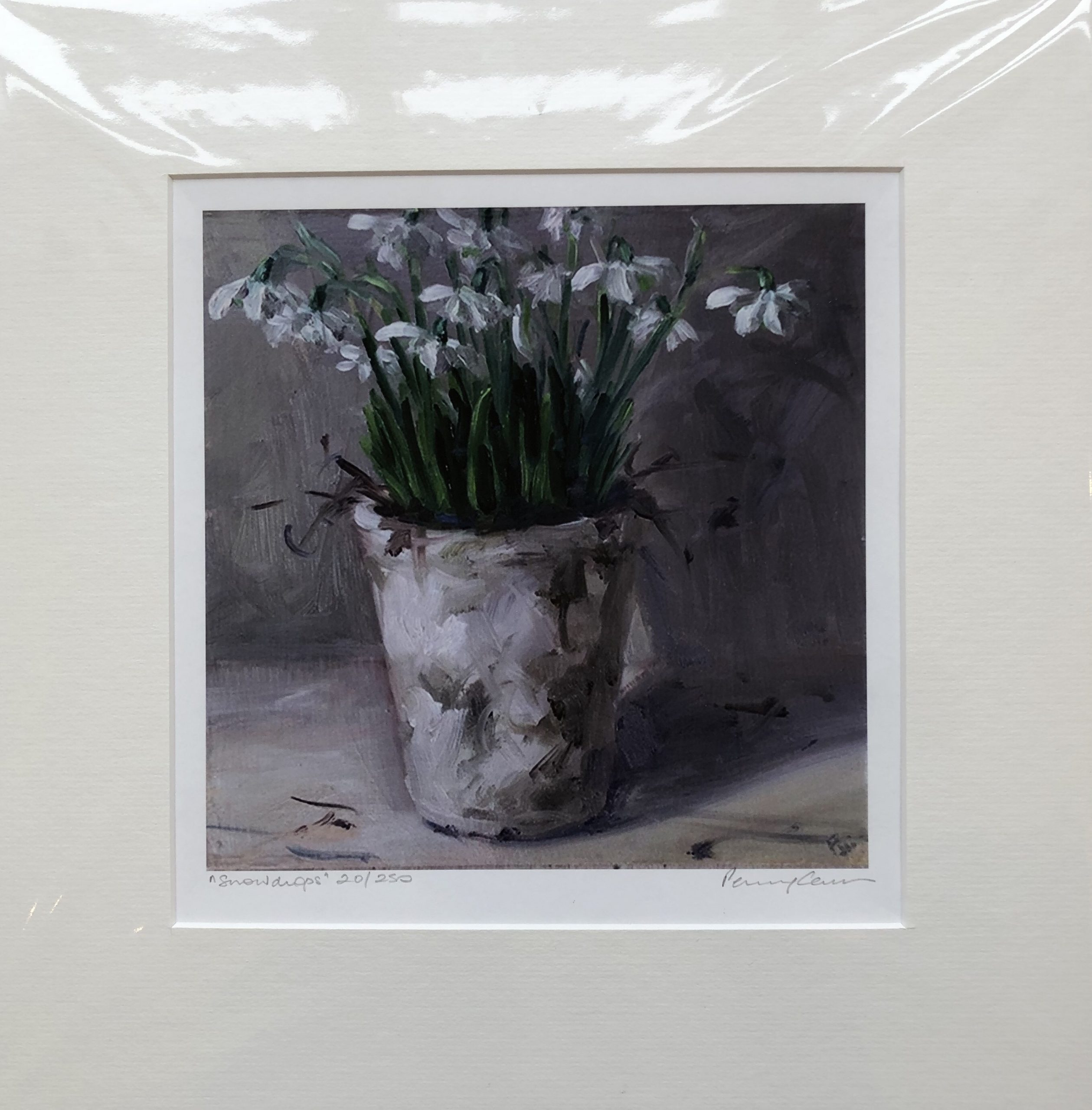 Snowdrops by Penny German