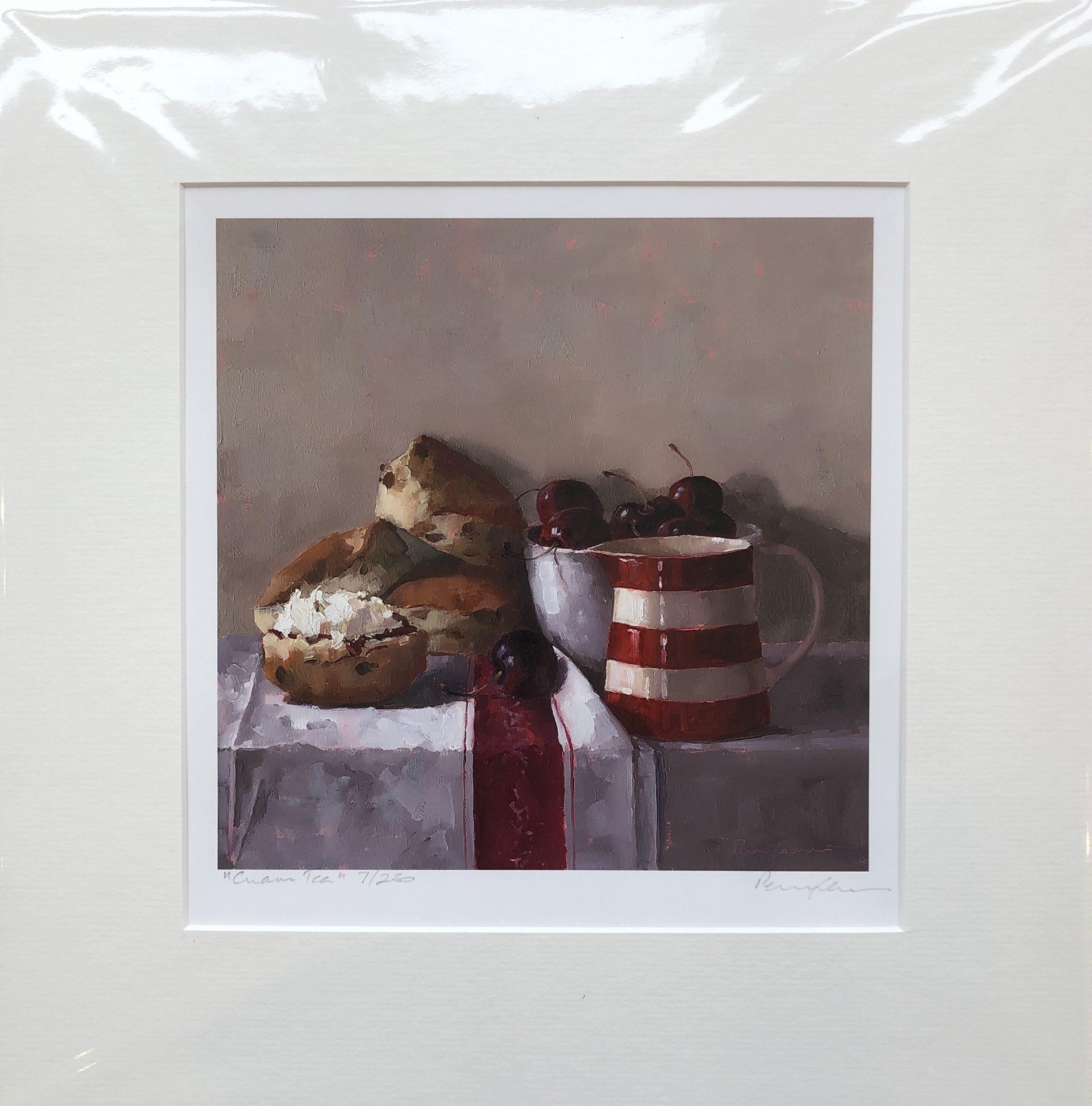 Cream Tea by Penny German