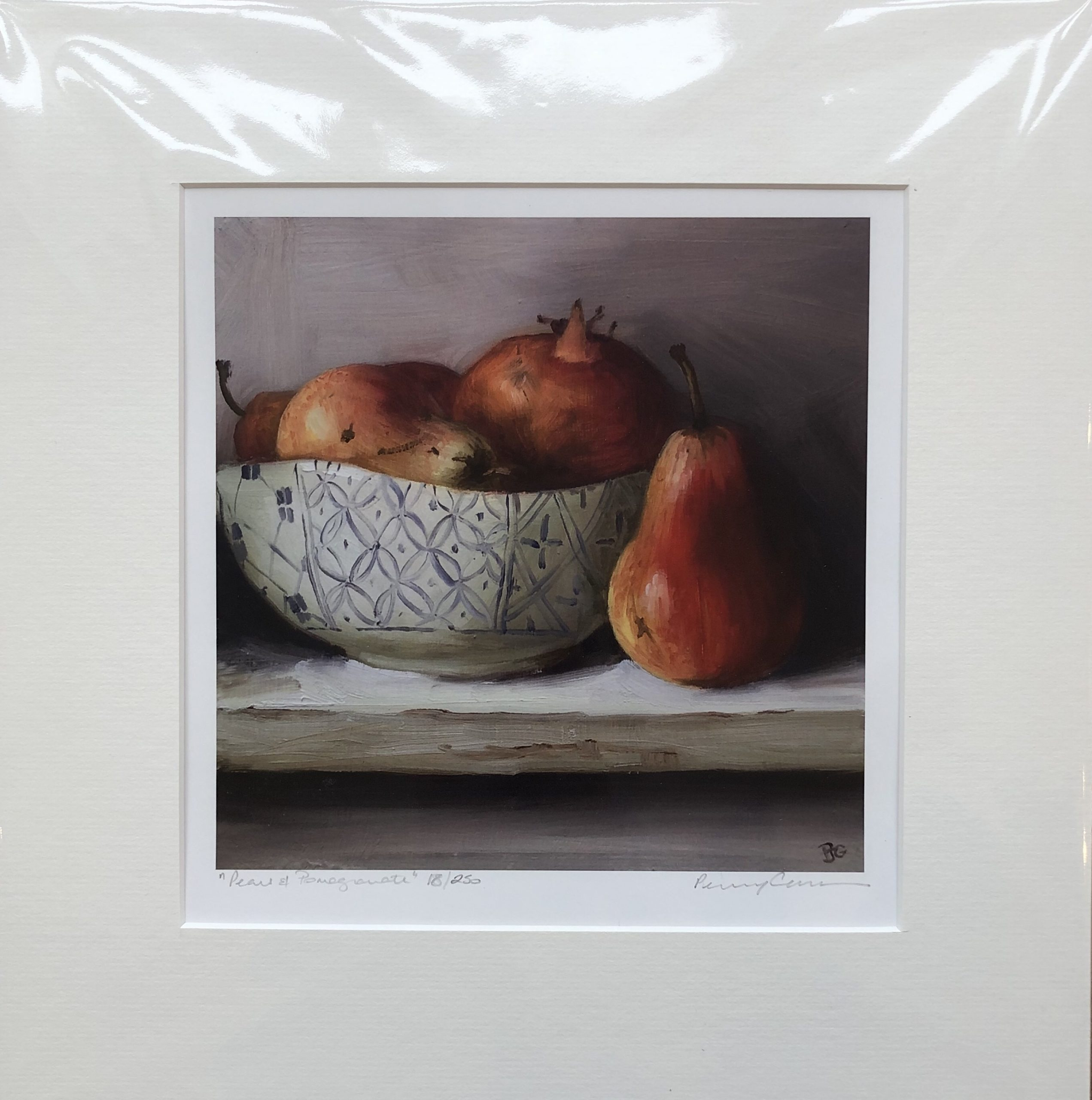 Pears and Pomegranate by Penny German