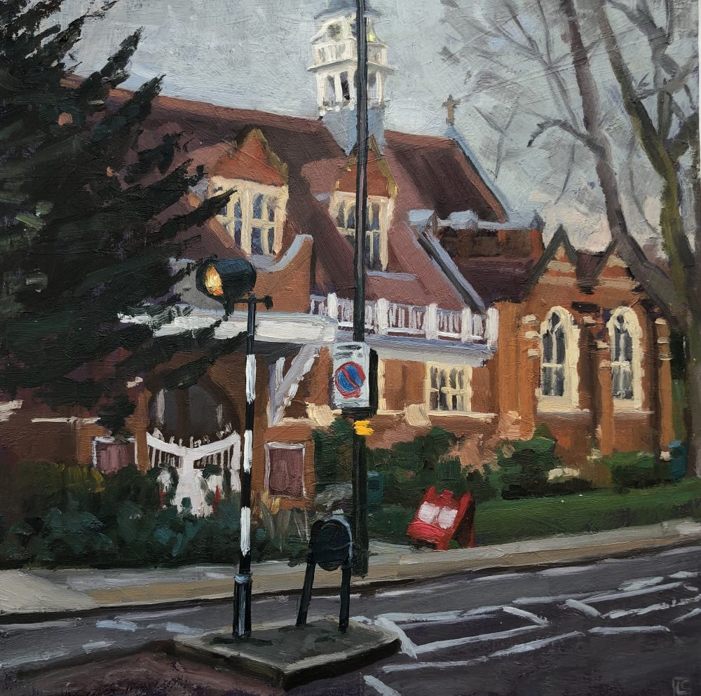 St Michael's and All Angels, Bedford Park by Lesley Dabson