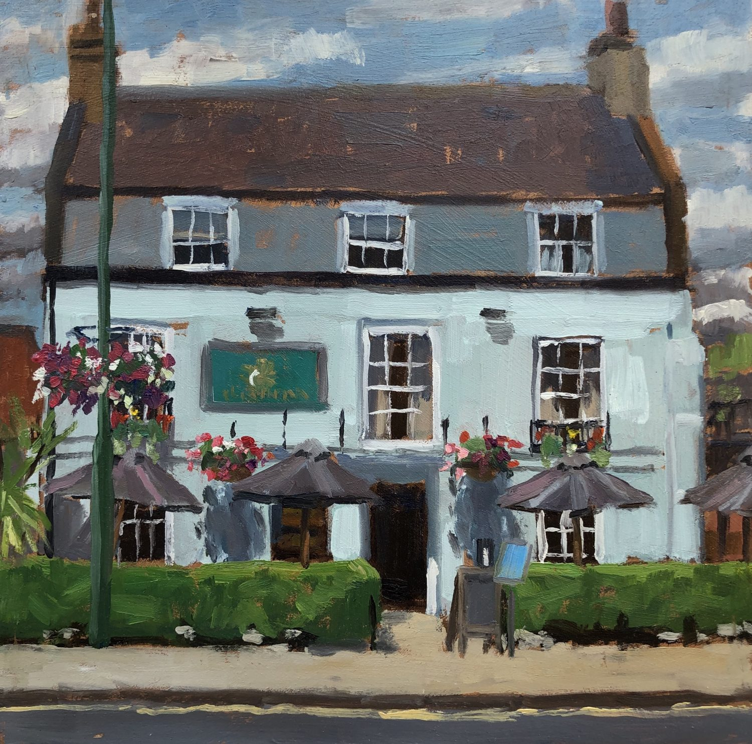 The Sun Inn, Barnes by Lesley Dabson