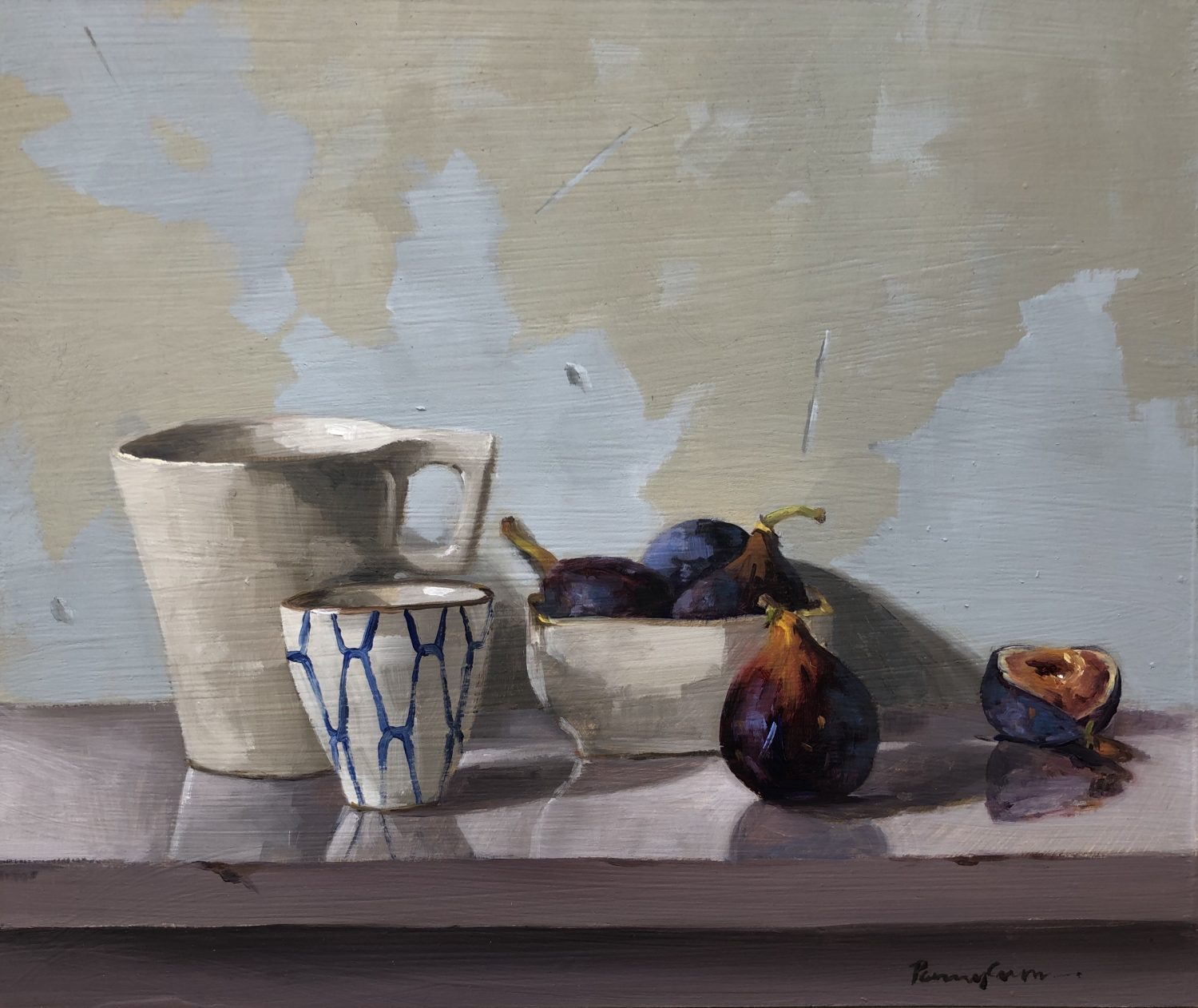 Figs and Small Pots by Penny German