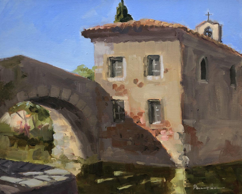 Pont du Somail I by Penny German