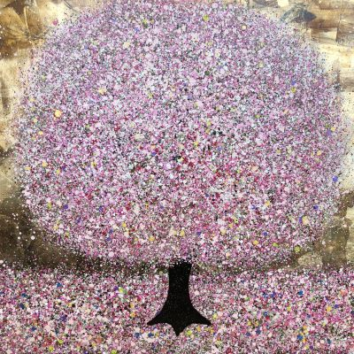 Smiling Springtime by Nicky Chubb 80x100cm