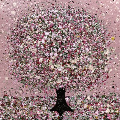Sweetheart Tree by Nicky Chubb 30 x 30 cm
