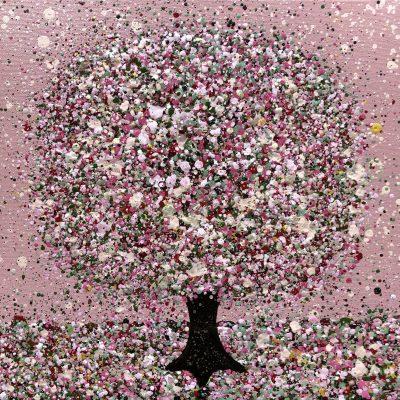 Sweetheart Tree by Nicky Chubb 30 x 30 cm